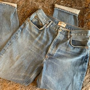 Remus High Rose Straight Jeans
